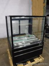 Turbo Air Tcgb 36uf B N Black 36 Flat Glass Refrigerated Bakery Display Case