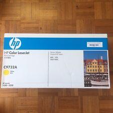 HP GENUINE 645A C9732A Yellow Toner Cartridge Laserjet - for 5500, 5550