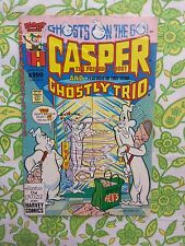 CASPER THE FRIENDLY GHOST comic book AUGUST 1990 No. 8 HARVEY