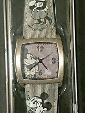 Disney Parks Mickey Mouse Limited Edition Watch Black and White NOS