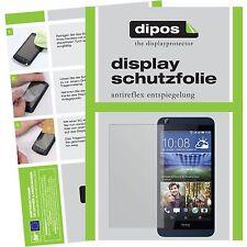 2x HTC Desire 626G Schutzfolie matt Displayschutzfolie Folie dipos Displayfolie