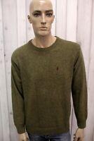 MARLBORO CLASSICS Uomo Taglia M Maglione Lana Sweater Pullover Maglietta Maglia
