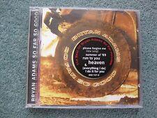 Bryan Adams greatest hits compilation album CD 'So Far So Good'