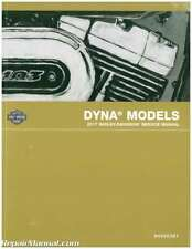 2017 Harley Davidson Dyna Motorcycle Service Manual : 94000381