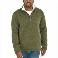 Orvis Men's Fleece Lined Quarter Zip Pullover