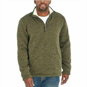 Orvis Men's Fleece Lined Quarter Zip Pullover