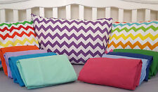 BABY SET COT BED SHEET NEW Fitted Flat Pillow Slip Cotton Blend Toddler Crib