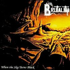 BRUTALITY WHEN THE SKY TURNS BLACK SEALED CD NEW 2014