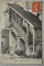 """CPA """" MEAUX - Escalier du Chapitre"""