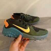 NIKE MENS WILDHORSE 6 - UK 7.5 & 9 - KHAKI GREEN/BLUE (BV7106-300)