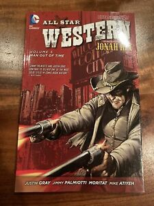 All Star Western Vol. 5 Man Out of Time TPB UNREAD New 52 Jonah Hex DC  HTF
