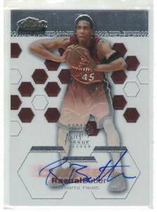 2002-03 RASUAL BUTLER TOPPS FINEST ROOKIE CARD RC AUTOGRAPH AUTO #/999 MIAMI RIP