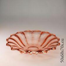 Schale Pressglas  Ø 32 cm Art Deco #197