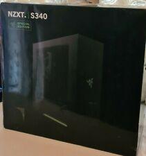 NZXT S340 Razer Special Edition PC ATX Case - Designed by Razer