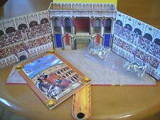 Neu+OVP GLADIATOREN Abenteuer-Kiste Buch- u Spielbox mit aufklappb.Amphitheater