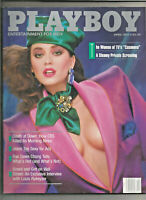 Playboy April 1987 bagged/boarded B2G1 Free!
