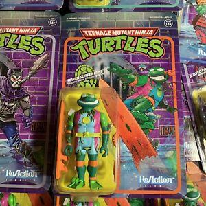 Super7 TMNT Teenage Mutant Ninja Turtles Reaction Figure  sewer surfer mike