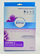 Hoover Z 3-Pack Febreze Premium Allergen Filtration Vacuum Bags