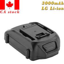 Creabest WA3512 18V 3000mAh Li-ion Battery For Worx WA3512.1 Rockwell RW9161