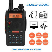 Baofeng UV-5R EX VHF/UHF Two Way Radio CTCSS/DCS Squelch Portable FM Transceiver