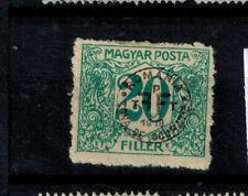 Briefmarken Ungarn DEBRECEN (DEBRECZIN) Portomarken 19 ungebraucht