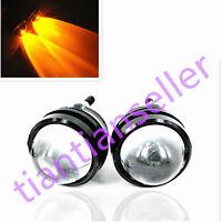 1 Pair 12V Car CREE LED DRL Bull/Fish Eyes Kit Projector Len Fog Light Lamp Bulb