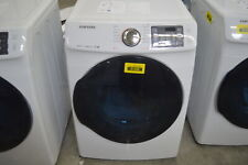 "Samsung Dv45K6200Gw 27"" White Front-Load Gas Dryer 7.5 Cu.Ft. Nob #41498 Mad"