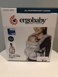 Ergo 360 Baby Carrier Omni Cool Air Mesh Pearl Grey Excellent condition