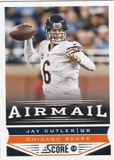 CHICAGO BEARS JAY CUTLER 2013 SCORE AIRMAIL #226