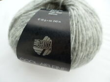 NEW : Cool Air Fine 50g Lana Grossa Finest Merino Wool Color Colour 012 Light