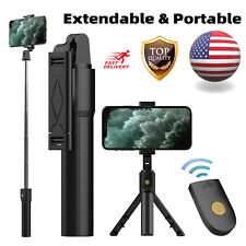 Adjustable Extendable Selfie Stick Tripod Remote Shutter for iPhone 11 Pro Max X