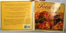 FOCACCIA Simple BREADS from the ITALIAN OVEN CookBook Carol FIELD Nice & Clean