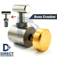 Dental Mill Bone Crusher Grinder Heavy Duty Surgery Implant Grafting Instruments