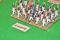 25mm napoleonic / french - regt 24 figs - inf (44804)