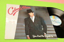 COLONEL ABRAMS LP YOU AND ME EQUALS ... GERMANY 1987 NM !!!!!!!!!!!!!!!!