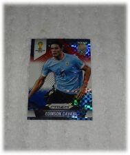 2014 Panini Prizm World Cup Red Blue Plaid Edinson Cavani - Uruguay #193