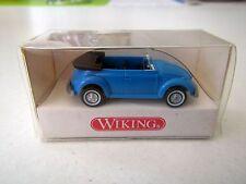 Volkswagen Beetle VW 1302 Superbug Cabriolet blue Wiking 8020114 1:87 HO Scale