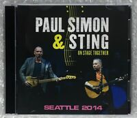 PAUL SIMON & STING ON STAGE TOGETHER SEATTLE 2014 2CD MD-642A DESERT ROSE Z01