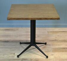 Attractive Vintage Heavy Cast Iron Industrial Base Side Table