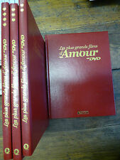 Les plus grands films d'amour en DVD  / 4 volumes