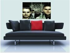 "GREEN STREET tifoserie violente senza confini MOSAIC TILE muro poster 35 ""x25"" CHARLIE HUNNAM"