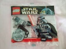 STAR WARS LEGO Minifigure chrome Darth vader