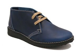 Oxygen Stitch Desert Boot Dresden Blue Sizes 5 and 6 ( 38-39 ) RRP £60