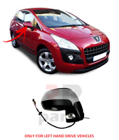 FOR PEUGEOT 3008 09-13, 5008 09-16 WING MIRROR 11 PIN INDICATOR FOLDING RIGHT