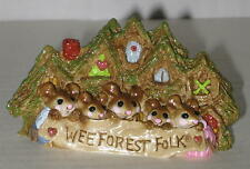Wee Forest Folk Store Figurine Displayer by Annette Petersen 3.25""