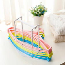 Pp Clothes Hanger Stacker Rack Home laundry Organizer Gadget Space-Saving Us