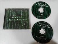 MATRIX RELOADED SOUNDTRACK OST BSO 2 X CD 2003 GERMAN EDITION LINKIN PARK POD