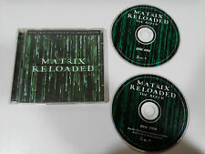 MATRIX RELOADED SOUNDTRACK OST BSO 2 X CD 2003 GERMAN EDITION LINKIN PARK POD