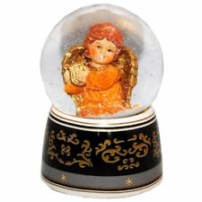 20034 Snow Globe angel with music box 140mm height