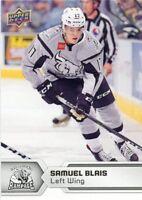 17/18 UPPER DECK AHL #10 SAMUEL BLAIS SAN ANTONIO RAMPAGE *47758